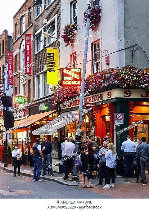 Pub exterior, Dublin, Ireland