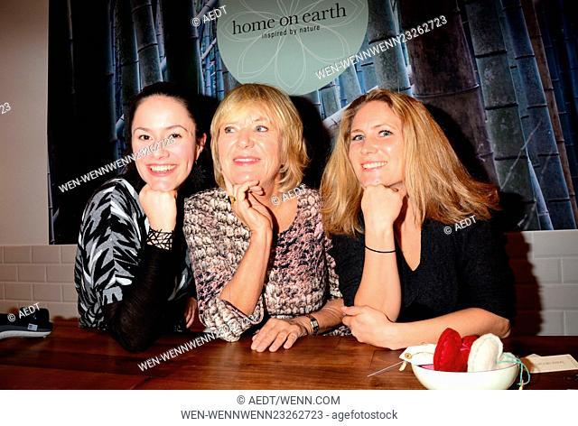 Celebrities attend the opening of Home on Earth store at Hackesche Hoefe Featuring: Antonia Feuerstein, Jutta Speidel, Franziska Speidel Where: Berlin