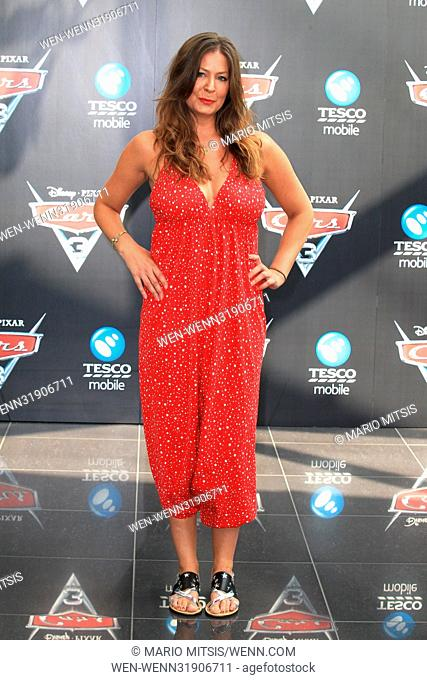 The 'Cars 3' Charity Gala Screening held at the Vue Westfield - Arrivals Featuring: Lucy Horobin Where: London, United Kingdom When: 09 Jul 2017 Credit: Mario...