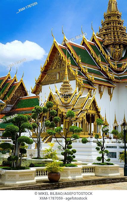 The Phra Thinang Chakri Mahaprasat buildings  Grand palace  Bangkok, Thailand