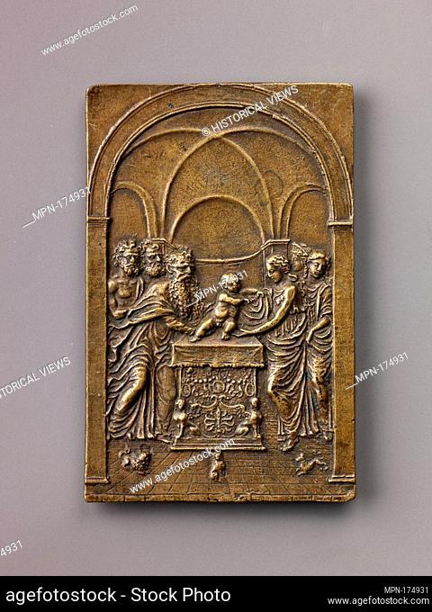The Presentation of Christ in the Temple. Artist: Moderno (Galeazzo Mondella) (Italian, Verona 1467-1528 Verona); Date: model ca