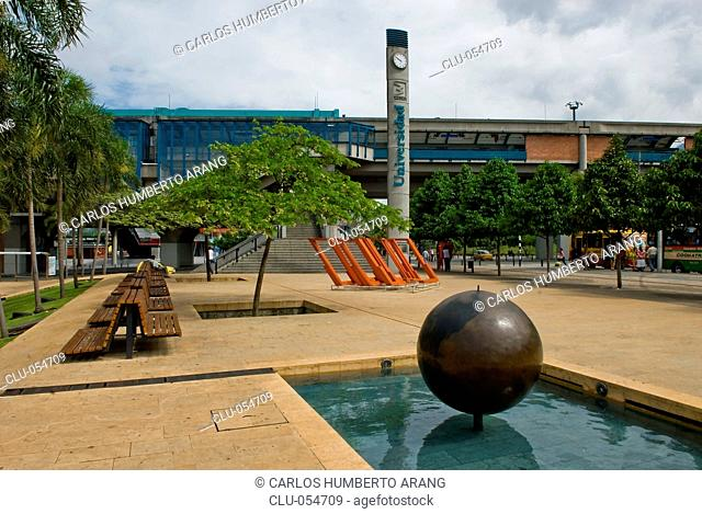 University Station, Park of Wishes, Medellin, Antioquia, Colombia
