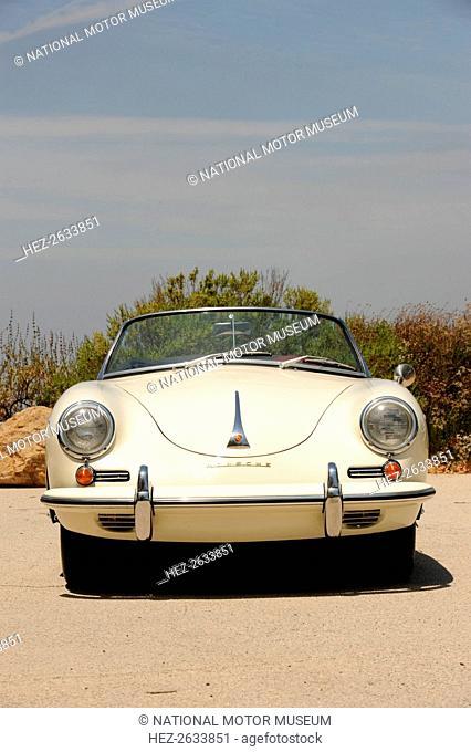 Porsche 356 1600 Super 1960. Artist: Simon Clay