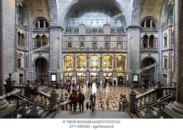 Belgium, Antwerp, Centraal Station,