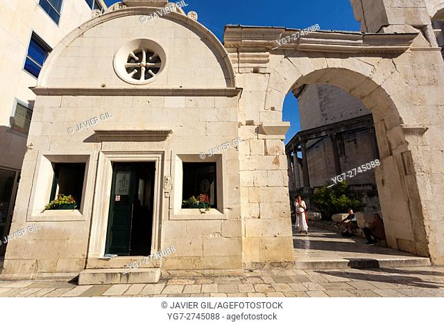 Historic city of Split, Diocletian Palace, Split, Dalmatia, Croatia
