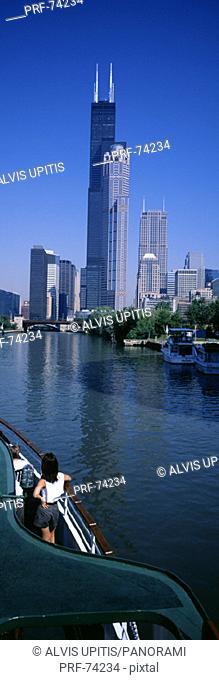 Chicago River Chicago IL USA