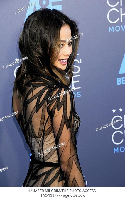 Jamie Chung attends the 20th Critics' Choice Movie Awards at the Hollywood Palladium on January 15, 2015 in Hollywood, California