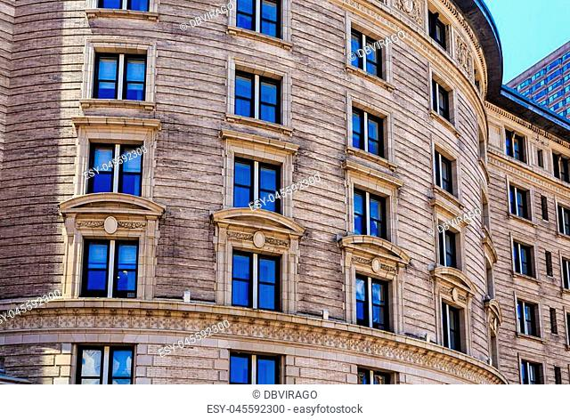 A Classic Old Architecture in Boston Massachussets