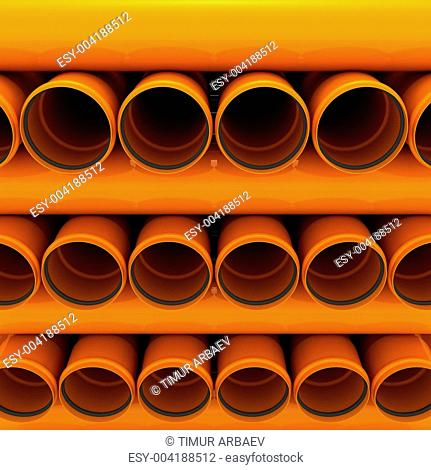 Canalization pipes
