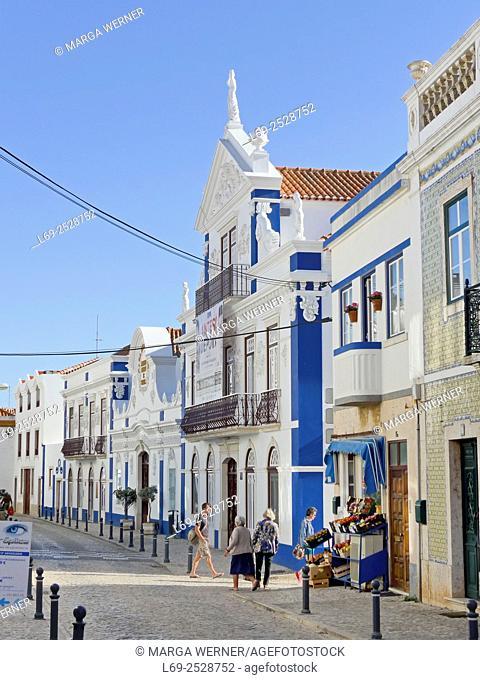 Mafra, Region Centro, Portugal, Europe, street with Camara Municipal, Cultural Center