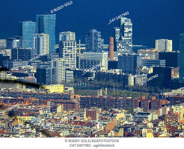 Diagonal Mar. Barcelona, Catalonia, Spain