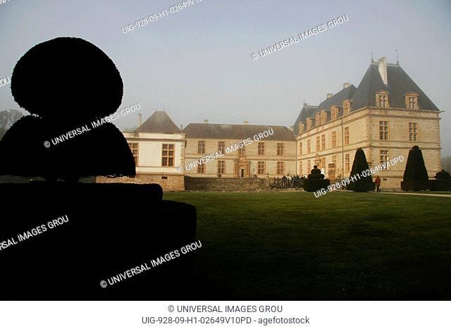France, Southern Burgundy, Cormatin Castle