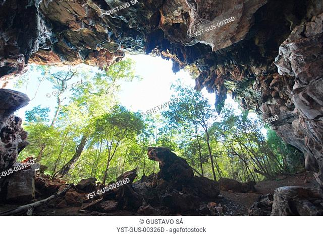 Som Cave, Dianópolis, Tocantins, Brazil