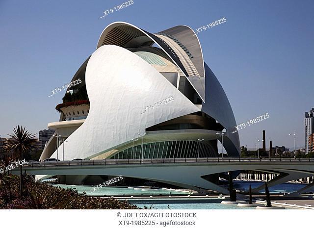 palau de les arts reina sofia city of arts and sciences ciutat de les arts i les ciencies valencia spain