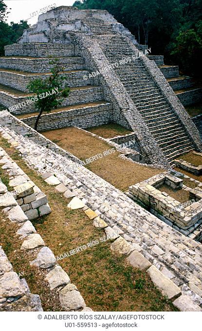 Mayan city of Tenam Puente, Chiapas, Mexico