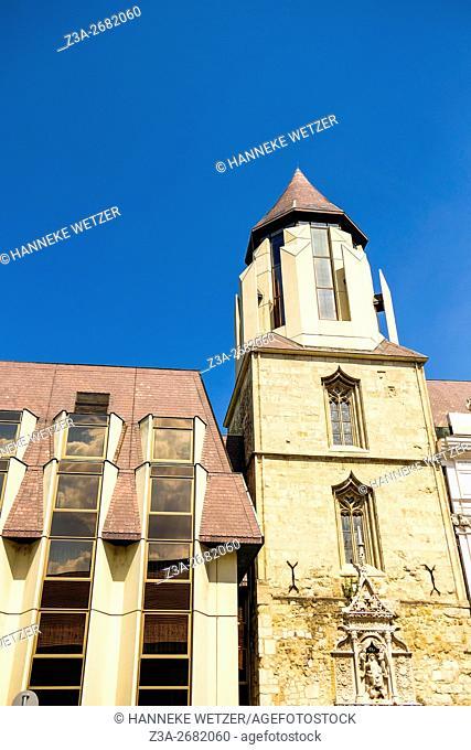 Dominican Church of Saint Nicholas, Hess András tér, Castle Hill, Budapest