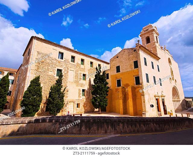 Sant Francesc Church and Monastery in Mao on Menorca, Balearic Islands, Spain