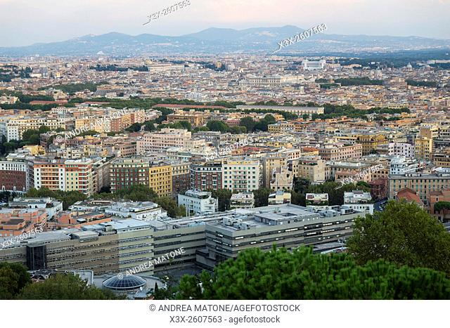 Rome cityscape. Italy