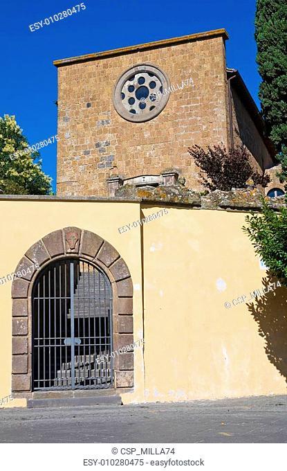 Church of St. Croce. Tuscania. Lazio. Italy