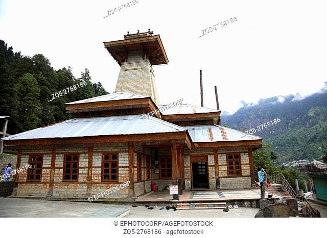 Manu temple, Manali, Himachal Pradesh, India