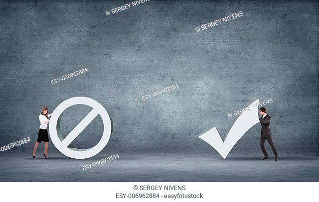 illustration of set of hazardous symbol on grey background
