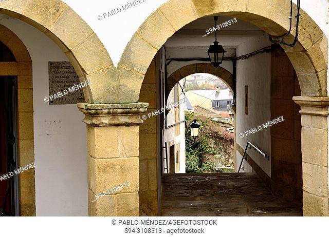 Old town of Viana do Bolo, Orense, Spain