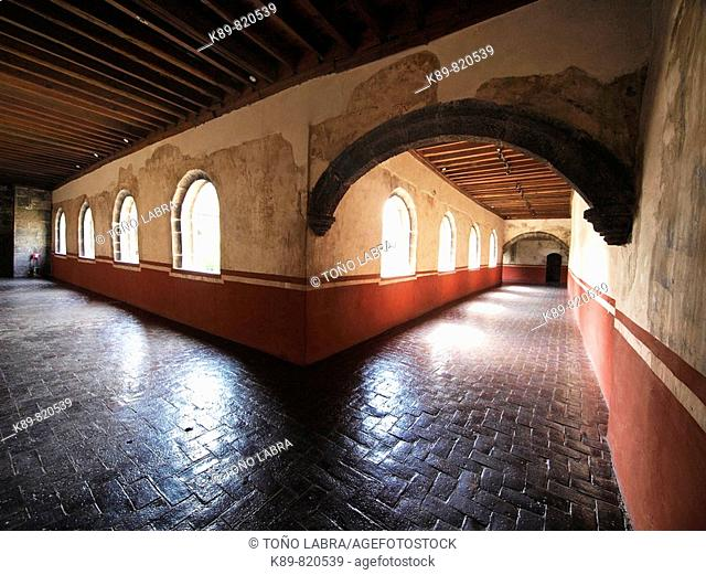 Convento de San Juan Evangelista. Barrio de Culhuacán. Ciudad de México