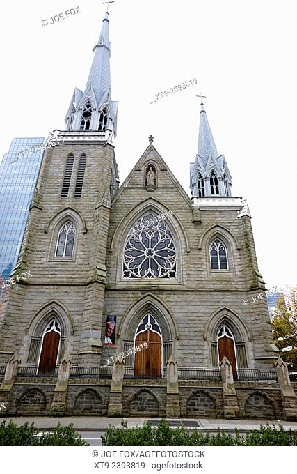 holy rosary cathedral headquarters of the roman catholic archdiocese of Vancouver BC Canada