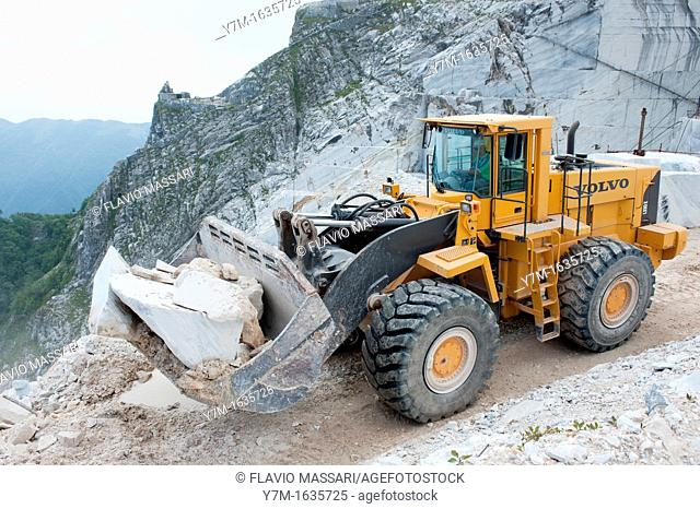 Apuane Alps- Italy- Marble Quarry Henraux