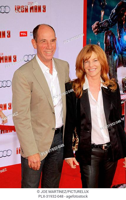 Miguel Ferrer at the World Premiere of Marvel's Iron Man 3. Arrivals held at El Capitan Theatre in Hollywood, CA, April 24, 2013