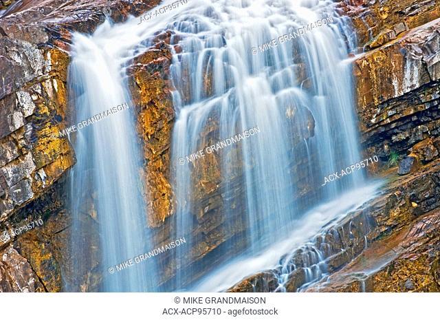 Cameron Falls Waterton Lakes National Park Alberta Canada Waterton Lakes National Park Alberta Canada