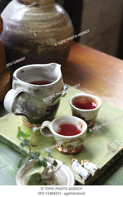 Schizandra fruit tea