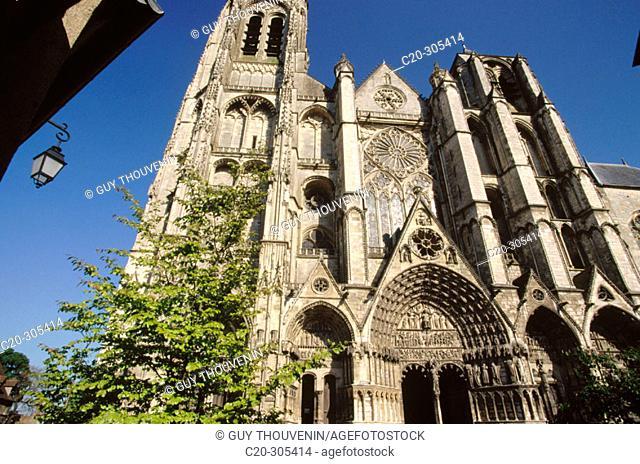 Saint-Etienne Cathedral. Bourges. Cher. Centre. France