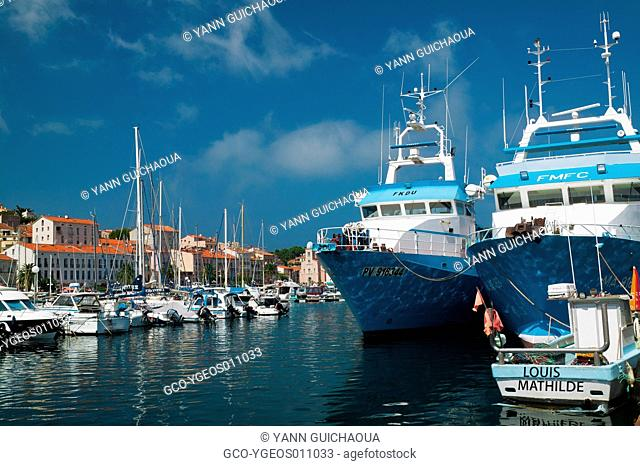 Port-Vendres, Pyrenees-Orientales, Languedoc-Roussillon, France