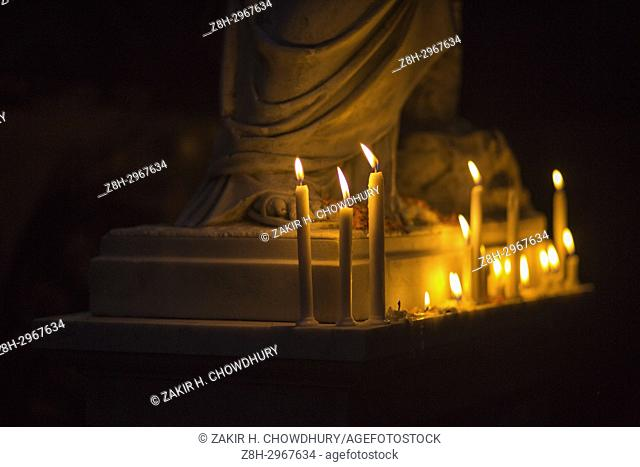 "DHAKA, BANGLADESH â. "" NOVEMBER 02: Bangladeshi Christian devotees observe All Souls' Day, known as the Feast of All Souls"