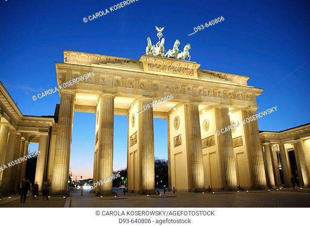 Germany, Berlin. Brandenburg gate