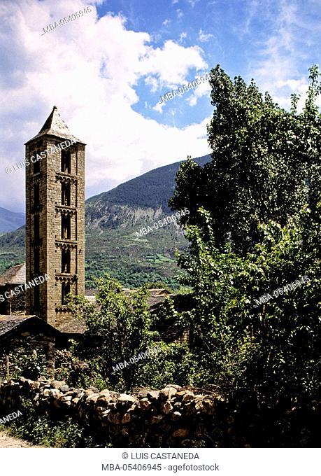Romanesque Church, Erill La Vall, Valley of Boí, Lleida, Spain