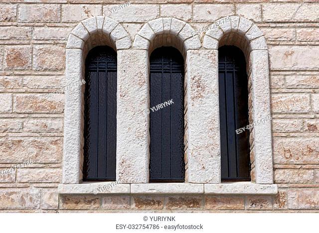 Window in the Monastery of St. Patapios