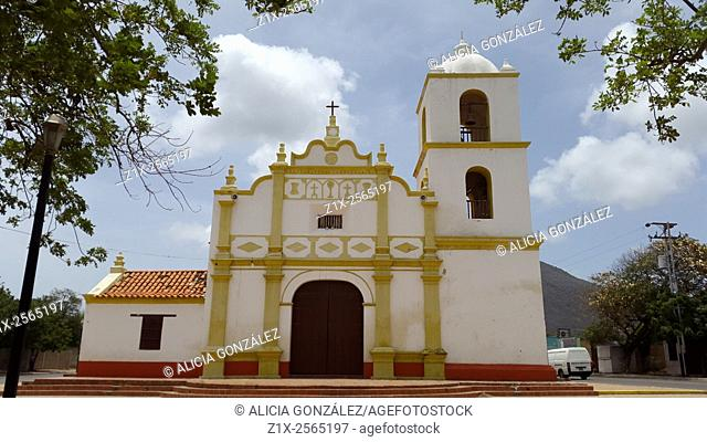 Old Spanish church building, Paraguana Peninsula, Falcon State, Venezuela