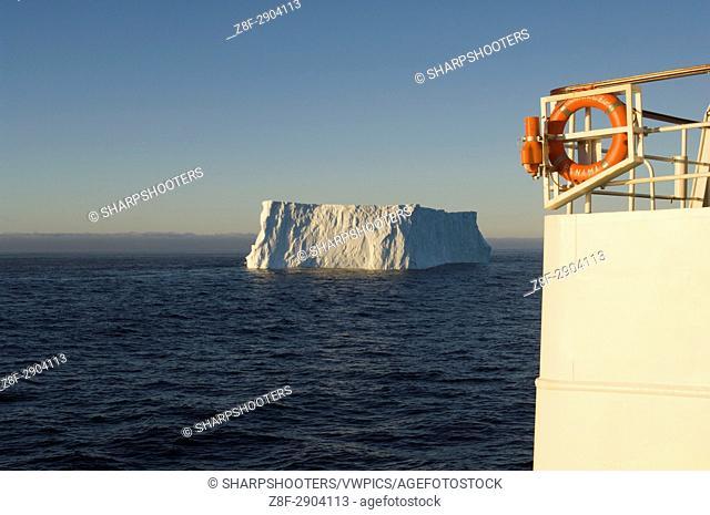 Antarctica, Antarctic Peninsula, Iceberg on Bransfield strait