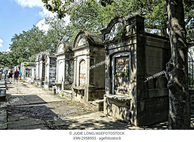 New Orleans, LA, Garden District. Lafayette Cemetery No. 1