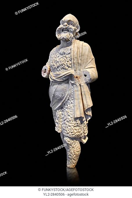 Roman statue of Silenus or Papposilenus from the second half of the 2nd cent. AD excavated from the Villa Marittima, Torre Astura Italy