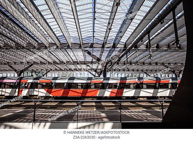 Rotterdam Central Station, The Netherlands, by architect team CS: a cooperation of Benthem Crouwel Architekten, Meyer en Van Schooten Architecten and West 8