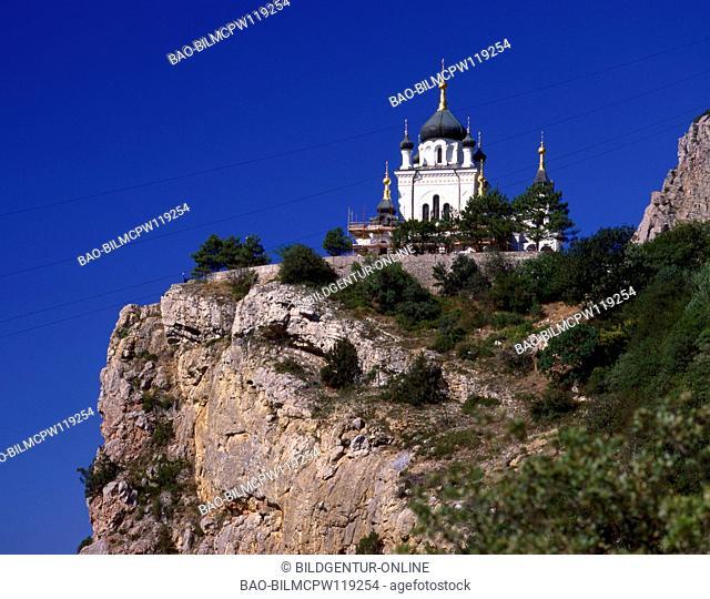 The Ukraine, the Crimea, Foross church Saint George's Monastery