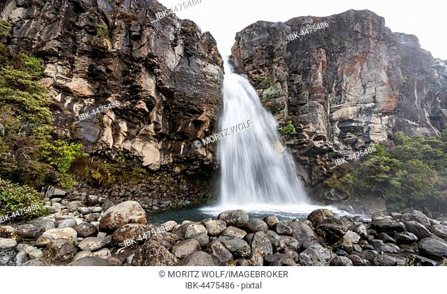 Taranaki Falls, waterfall, Tongariro National Park, North Island, New Zealand