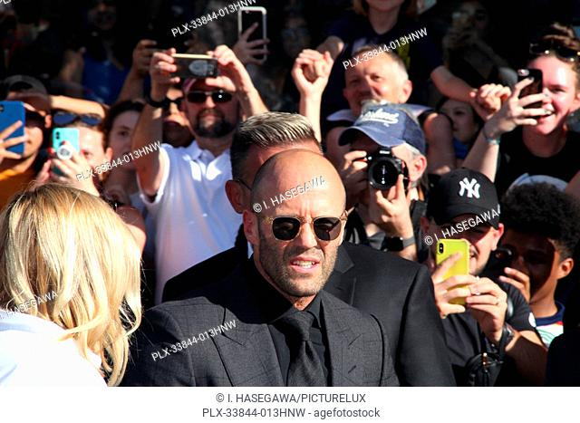"Jason Statham 07/13/2019 The world premiere of """"Fast & Furious Presents: Hobbs & Shaw"""" held at the Dolby Theatre in Los Angeles, CA Photo by I"