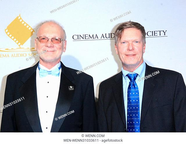 53rd Annual Cinema Audio Society (CAS) Awards at Omni Los Angeles Hotel at California Plaza - Arrivals Featuring: Mark A