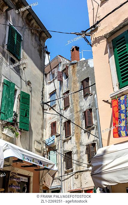 Romantic Rovinj is a town in Croatia situated on the north Adriatic Sea Located on the western coast of the Istrian peninsula