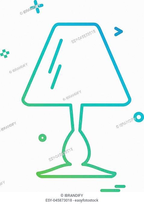 Furniture icon design vector