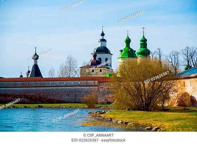 The Kirillo-Belozersky monastery.Russia,the city of Kirillov